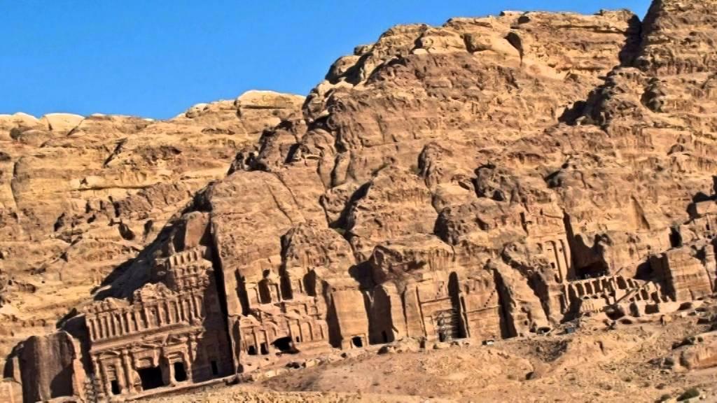 Ansamblul arhitectural din Petra, Iordania