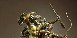 Călcâiul lui Ahile, Ahile si Centaurul Chiron