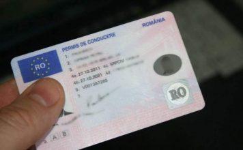 Permis de conducere din România