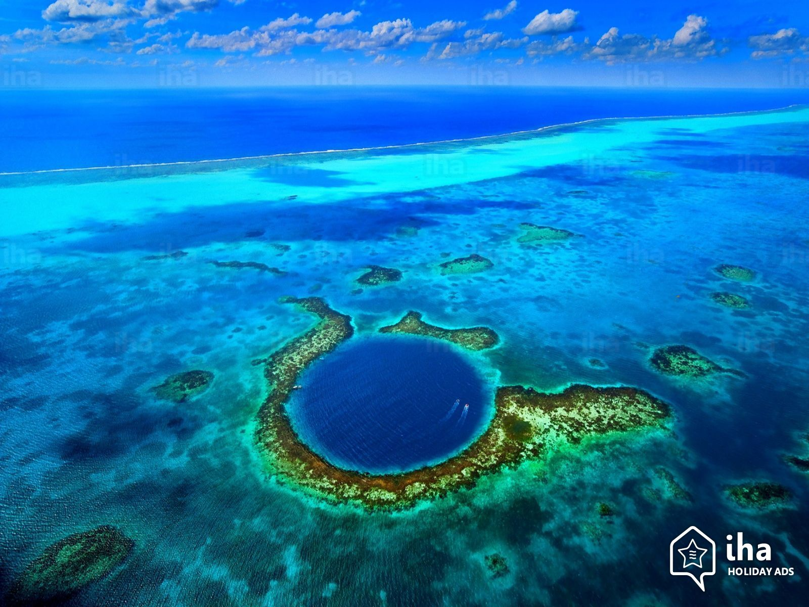 10 fenomene uimitoare de pe Terra, Marea Gaura Albastra, Belize
