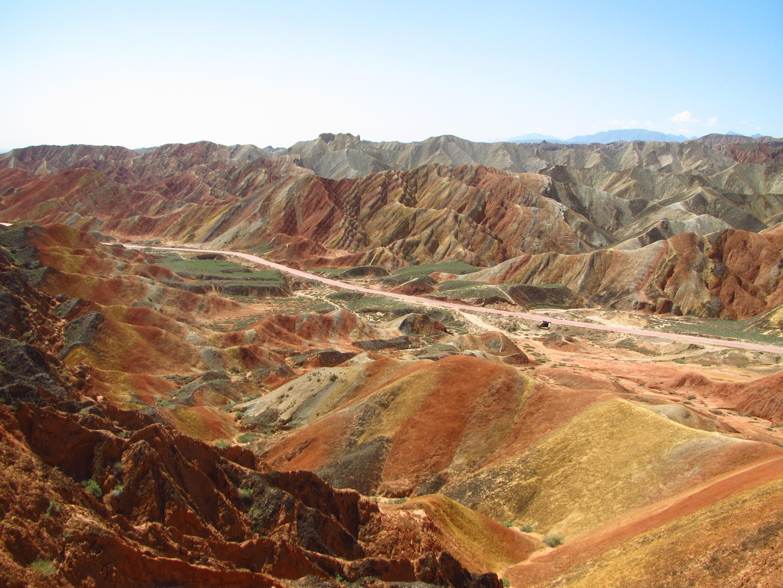 10 locuri uimitoare de pe Terra, Danxia, China