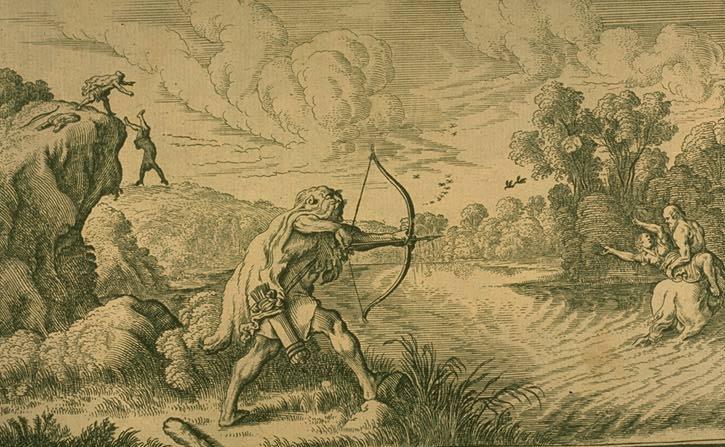 Cămaşa lui Nessus, legenda despre Heracles