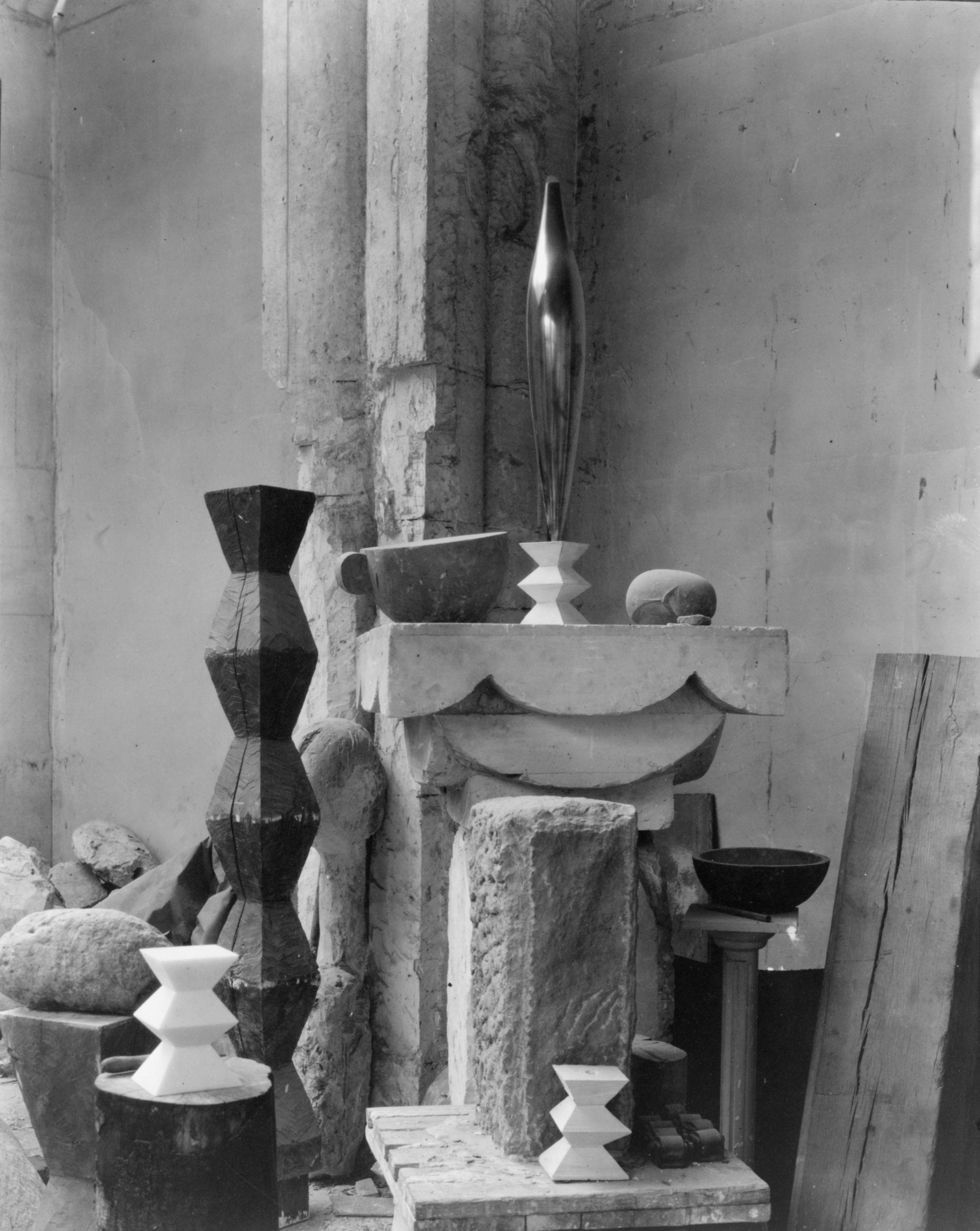 Constantin Brâncuşi, Atelierul de la Paris