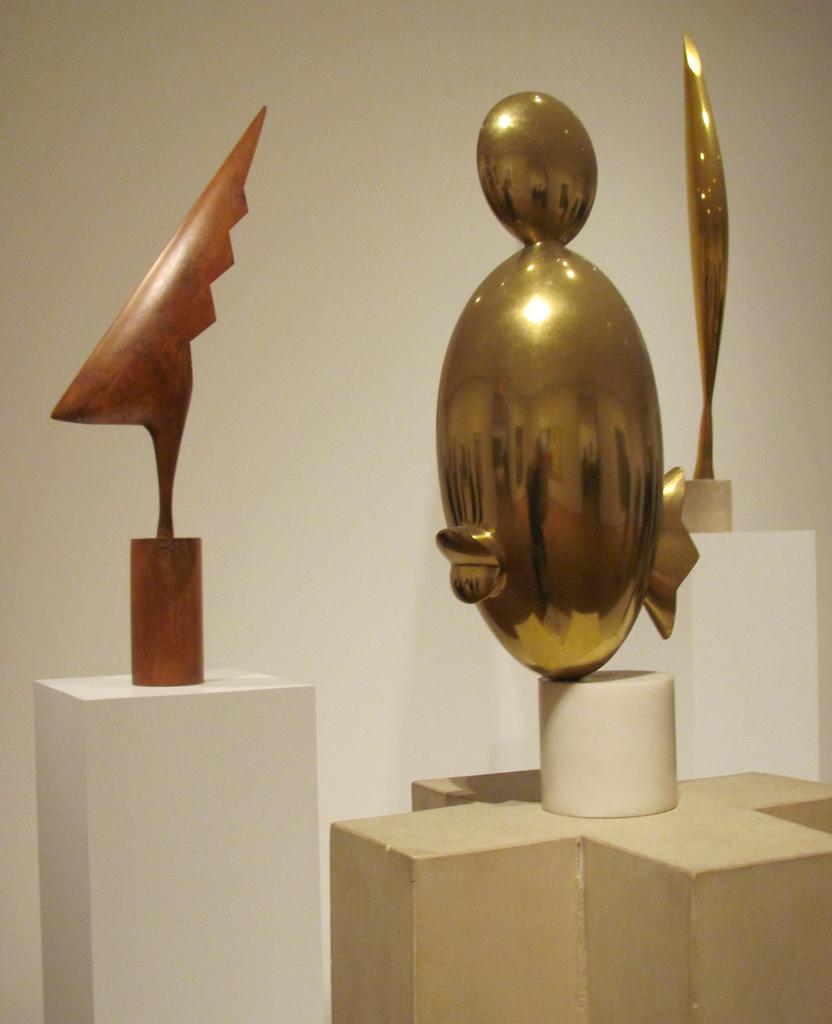 Constantin Brâncuşi, Exponate MoMa, SUA