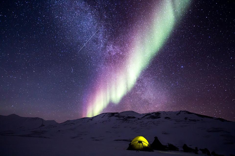 Teoria Pământului gol, aurorele boreale