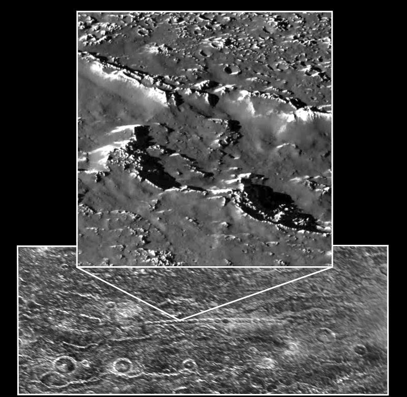 Lunile lui Jupiter, Cratere pe Callisto