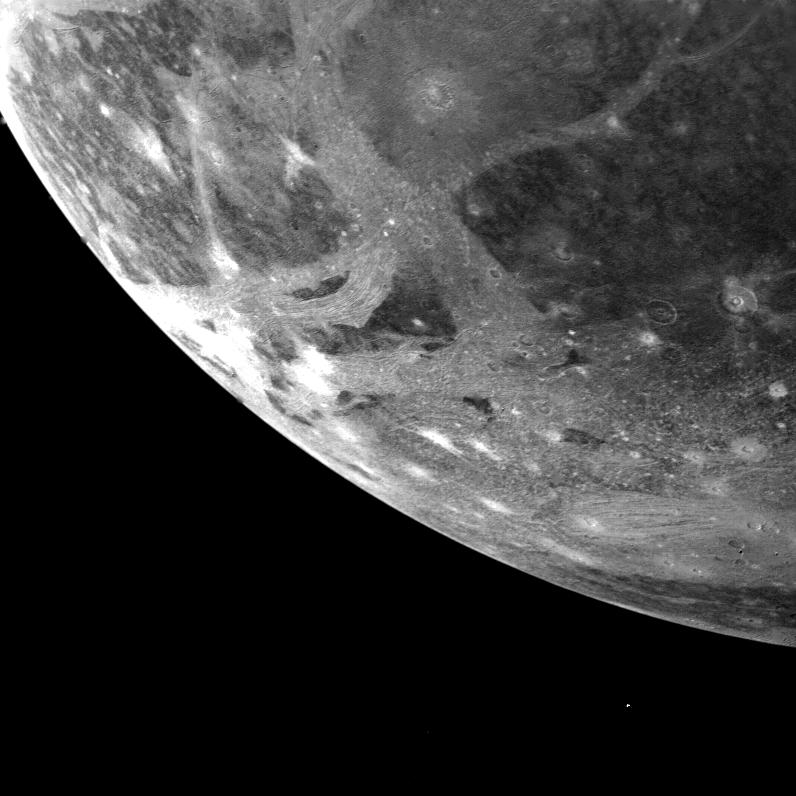 Lunile lui Jupiter, Ganymede