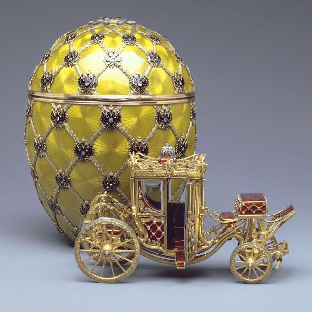 Ouăle Fabergé, comandate de Familia Romanov