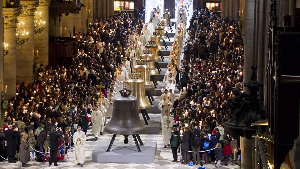 Clopotele de la Notre Dame, Sursa: ouest-france.fr