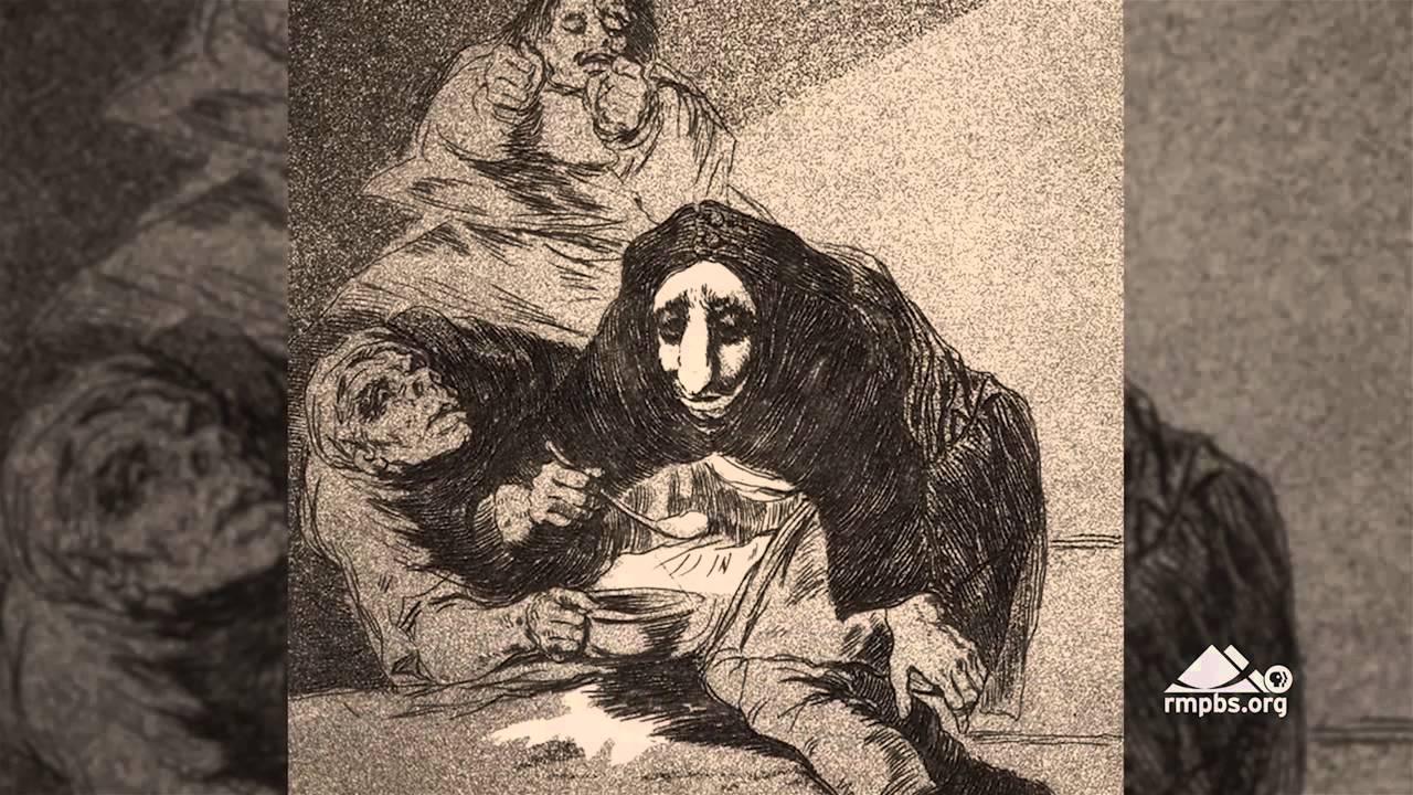 Goya, Los Caprichos (Capriciile)