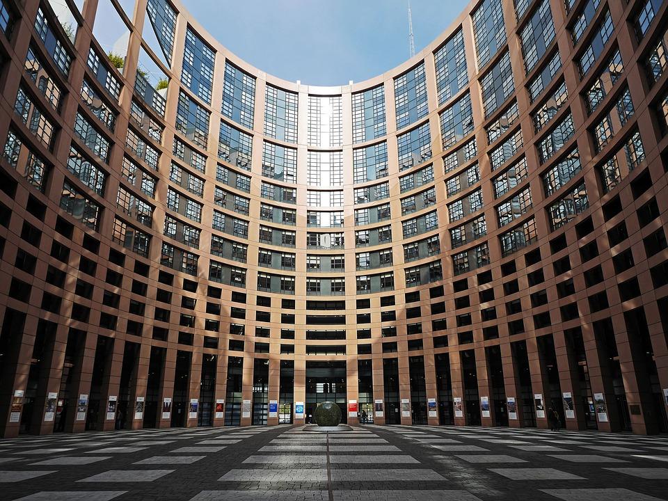 Alegerile europarlamentare. Parlamentul UE din Strasbourg