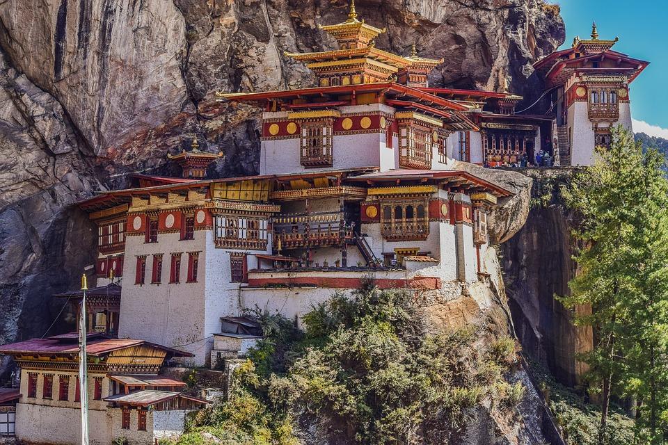 Bhutan, templu