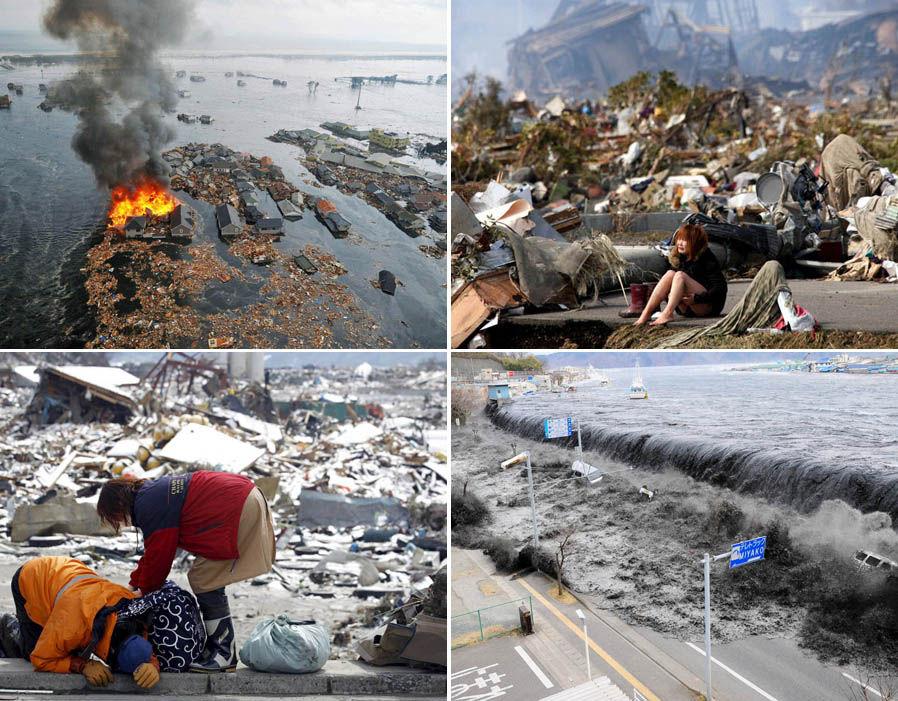 Catastrofa de la Fukushima, Sursa: Daily Express