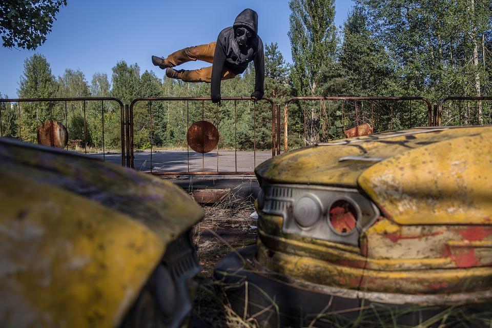Cernobil, Zona mortii
