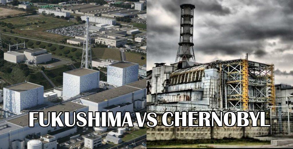 Fukushima vs. Cernobil