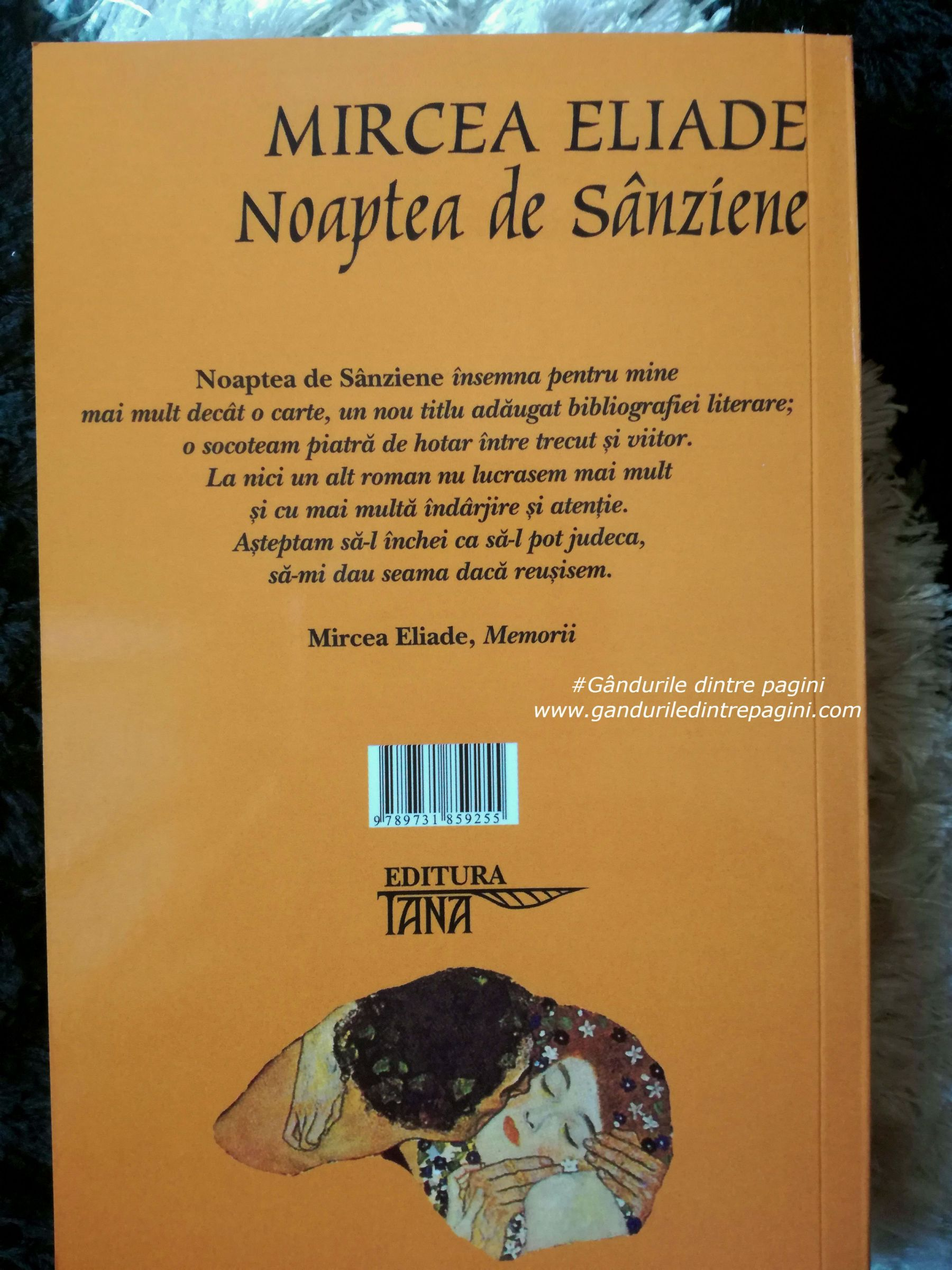 Mircea Eliade, romanul Noaptea de Sânziene