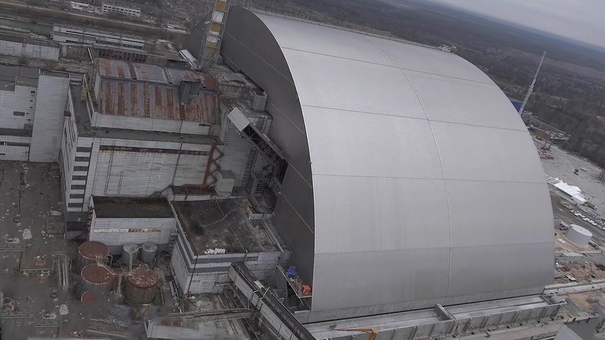 Sarcofagul de la Cernobil