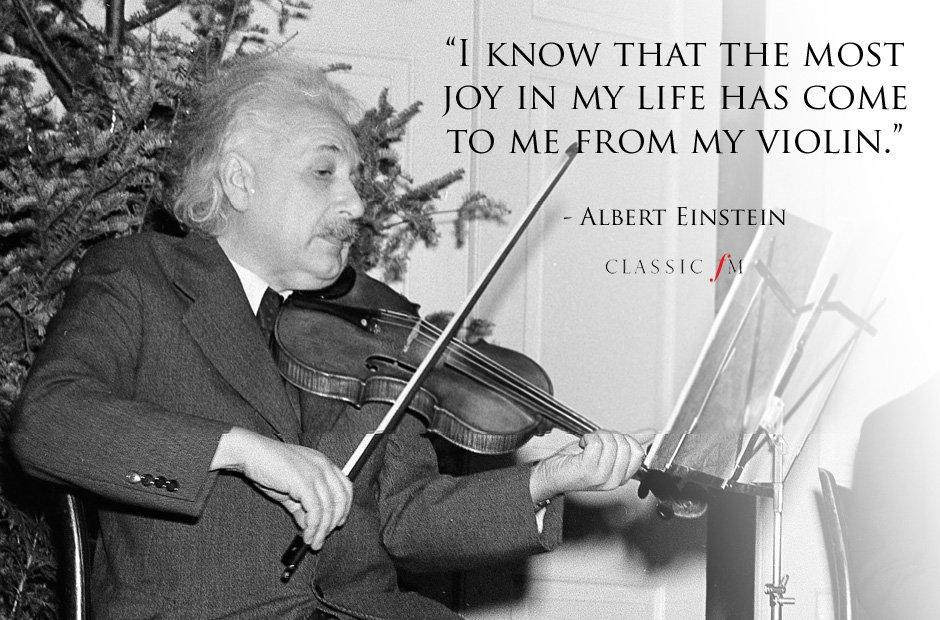 Albert Einstein, Sursa Classic FM