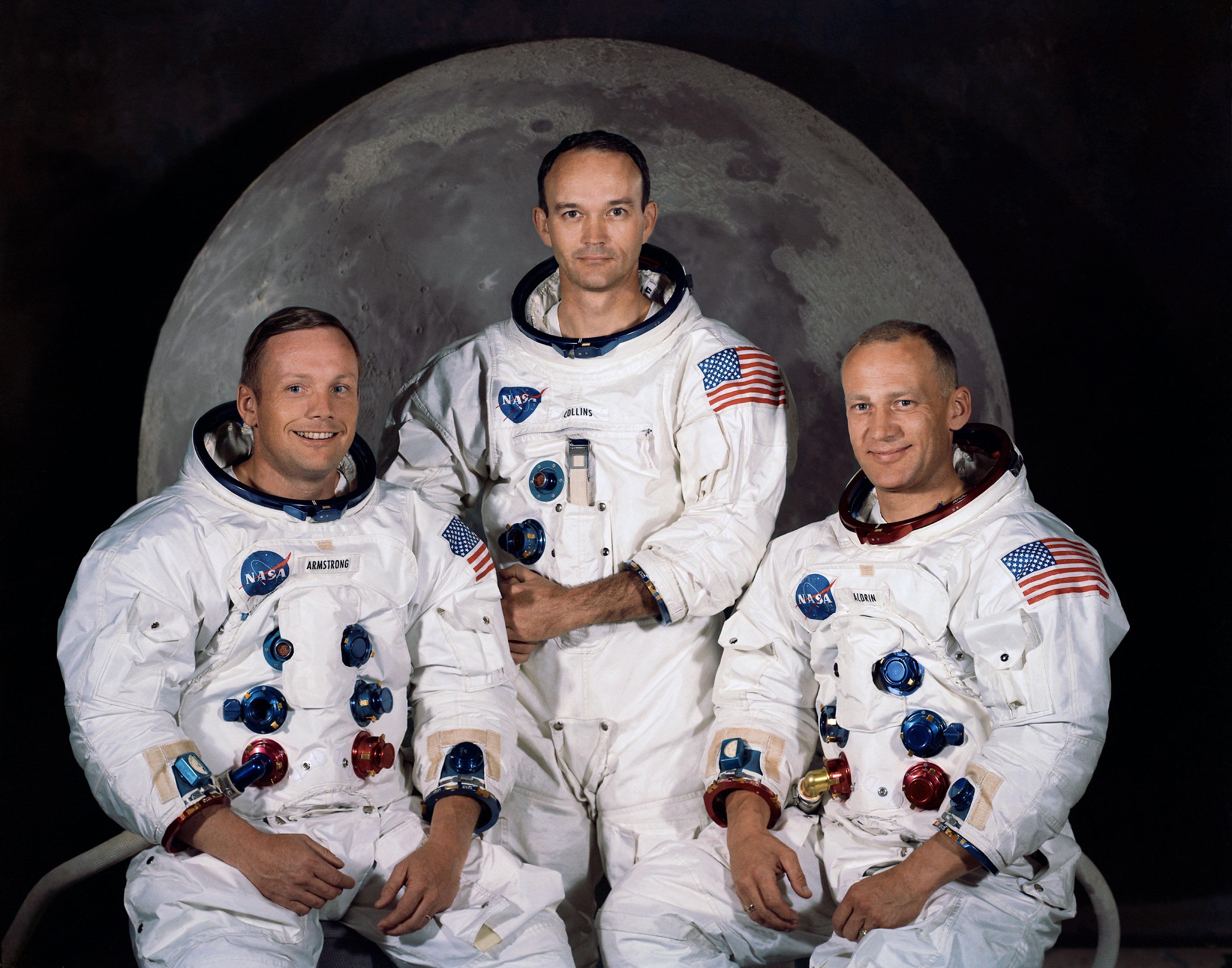 Apollo 11, membrii echipajului