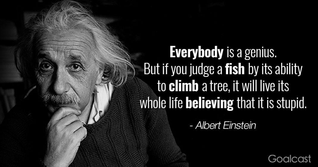 Albert Einstein, citat