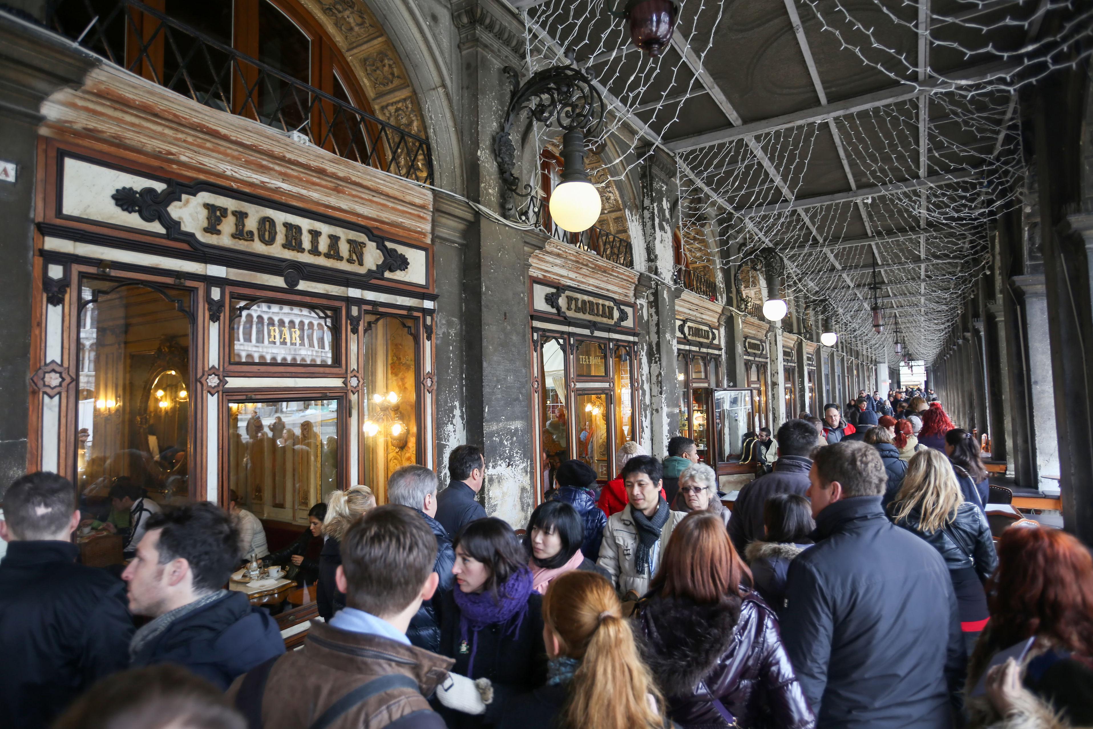 Caffe Florian, cea mai veche cafenea italiana