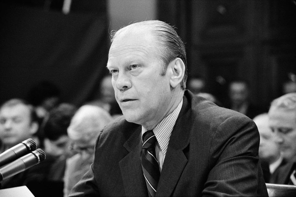20 de fapte istorice greu de crezut, Gerald Ford