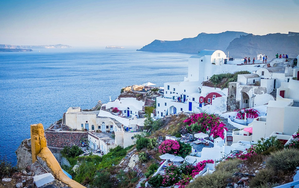 Istoria concediului plătit, dstinatii de vacanta, Grecia