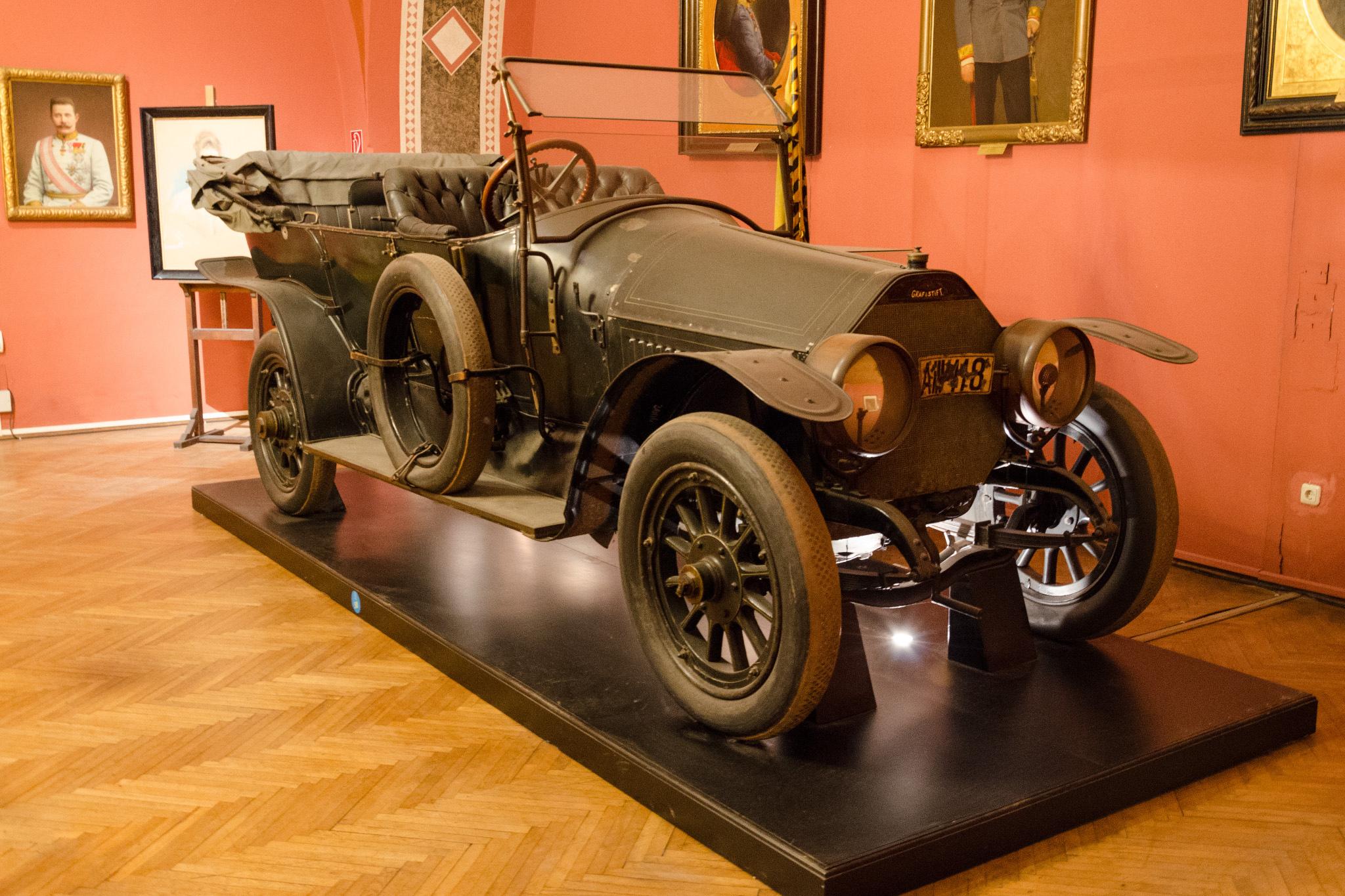 20 de fapte istorice greu de crezut, Masina ducelui Franz Ferdinand, Sursa: Hemmings Motor News