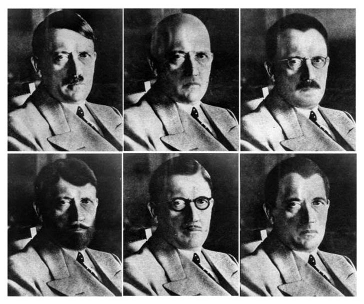 Portrete ale lui Hitler, Sursa: Universal History Archive