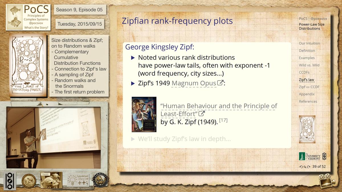 Legea lui Zipf