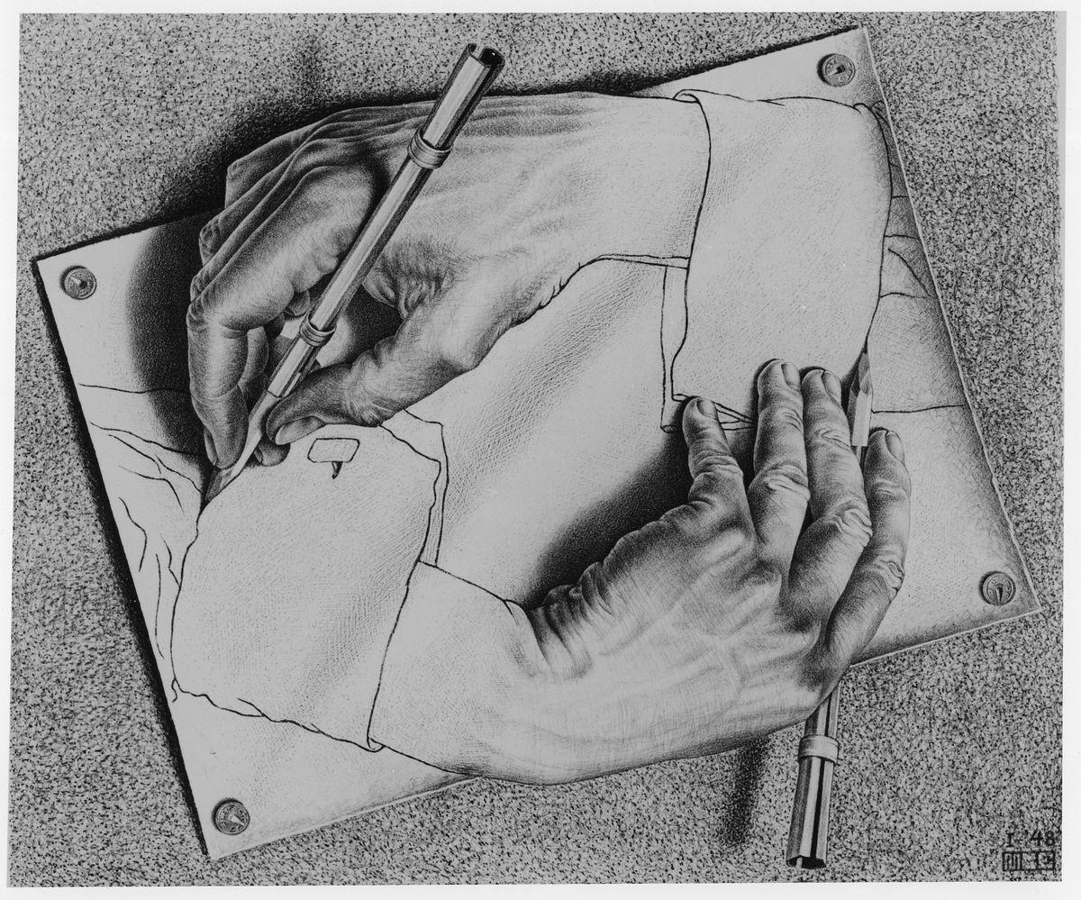 M.C. Escher, Sursa: artsy.net