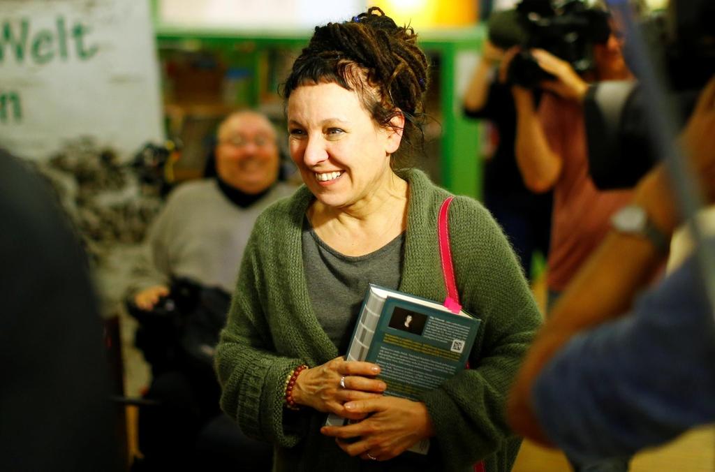Olga Tokarczuk, laureata Premiul Nobel pentru Literatură