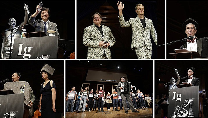 Premiile Ig Nobel 2019, Sursa: The Daily Courier