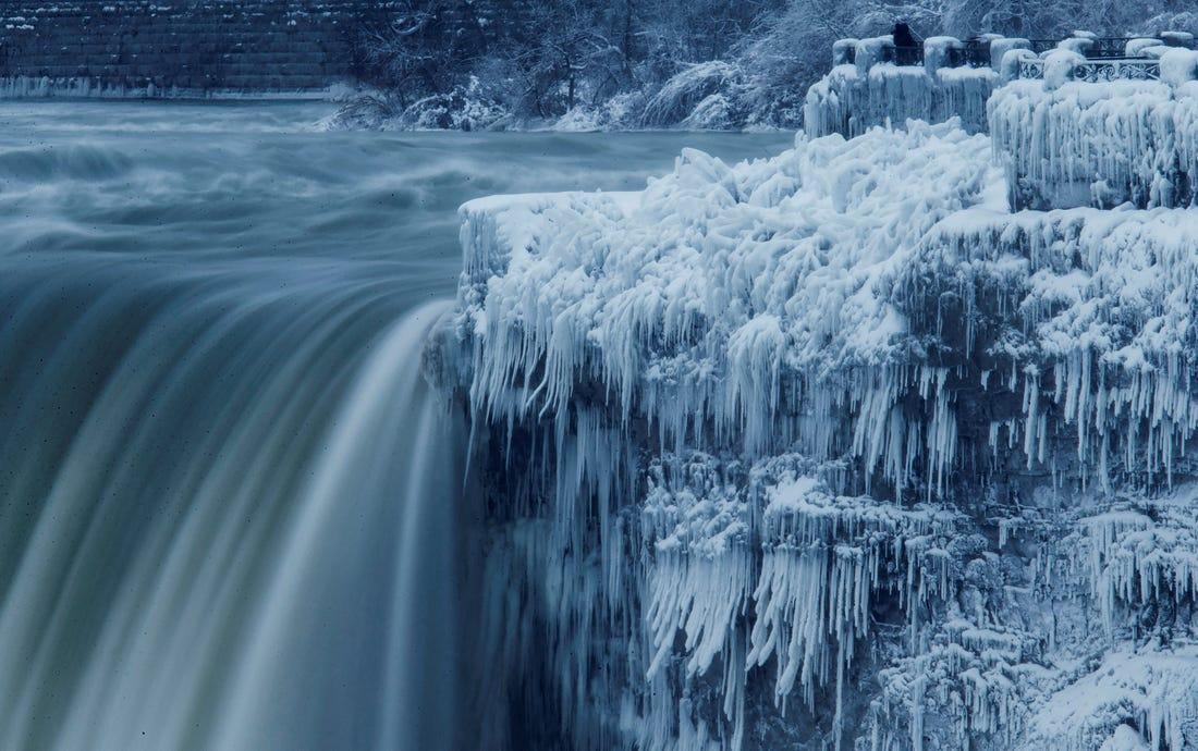 Vortexul polar, Sursa: Business Insider