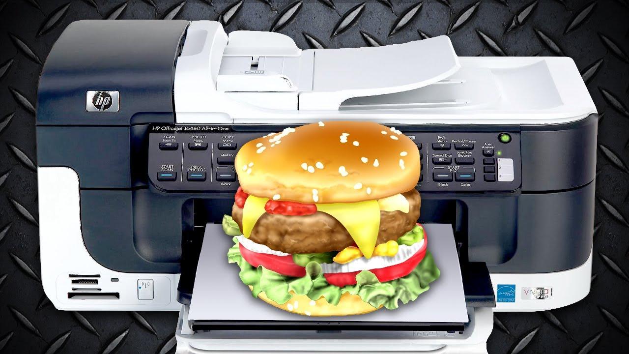 Alimentele 3D, revoluţia din bucătărie se produce chiar acum