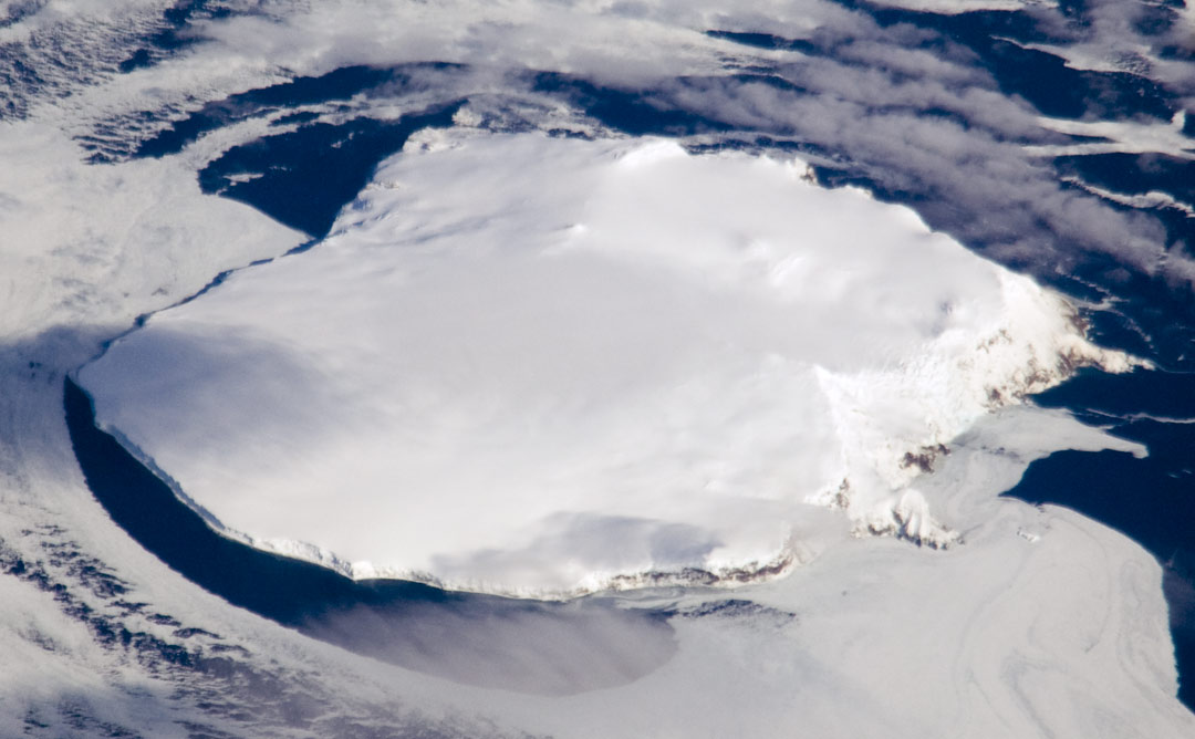 12 insule misterioase, Insula Bouvet, Sursa: NASA Earth Observatory