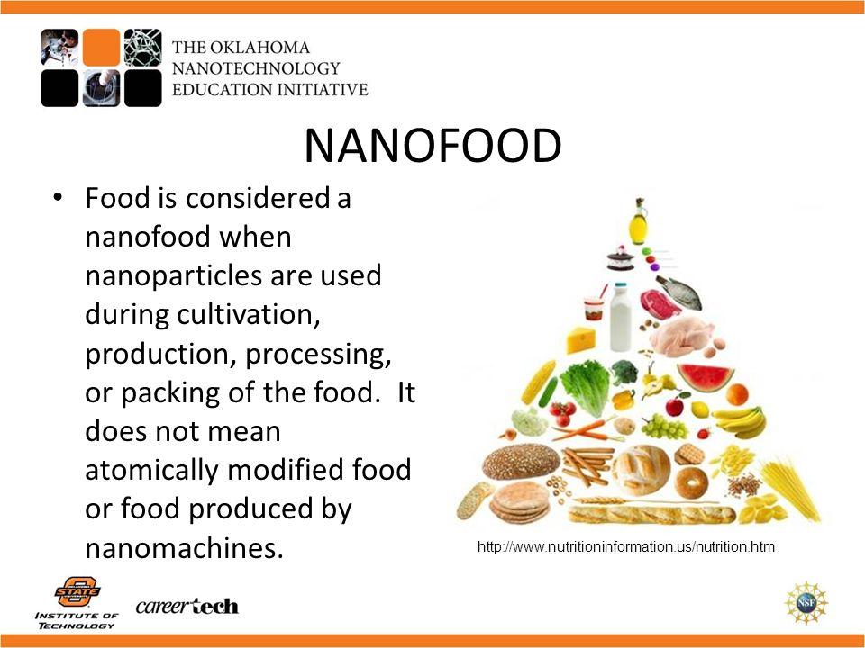 Hrana viitorului, Nano- alimentatie