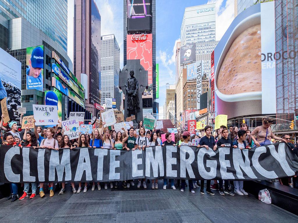 Cuvântul anului 2019, Urgenta climatica