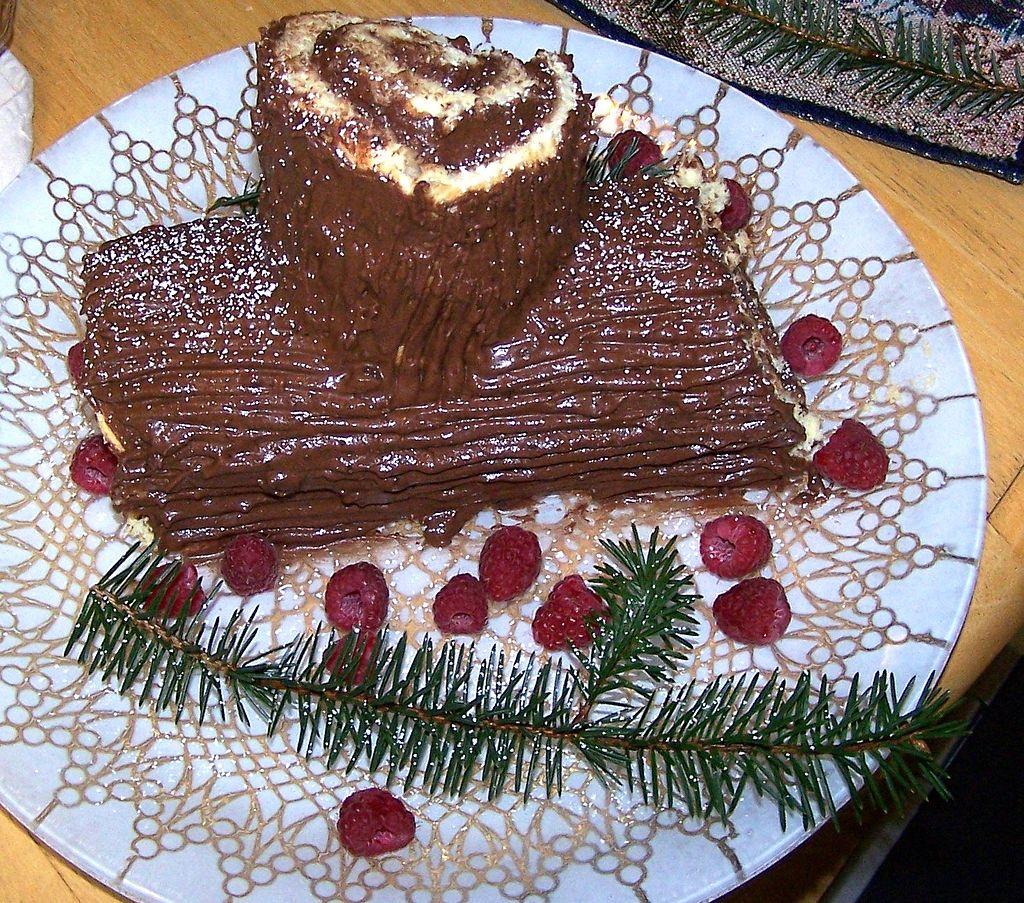 10 tradiţii de Crăciun în lume, El tronco de Navidad