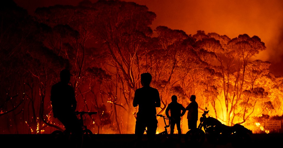Incendiile din Australia si comportamentul uman, Sursa Common Dreams