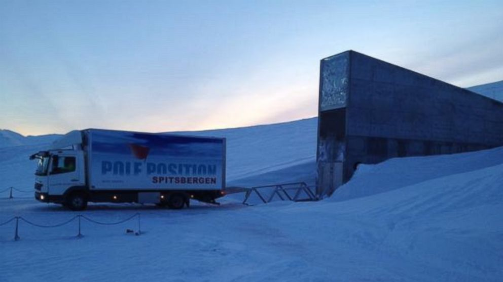 Svalbard Global Seed Vault, Sursa ABC News