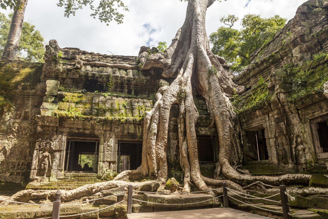 Oraşe fantomă, Angkor, Cambodgia