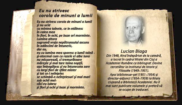 Lucian Blaga, scriitor canonic, Bacalaureat 2020