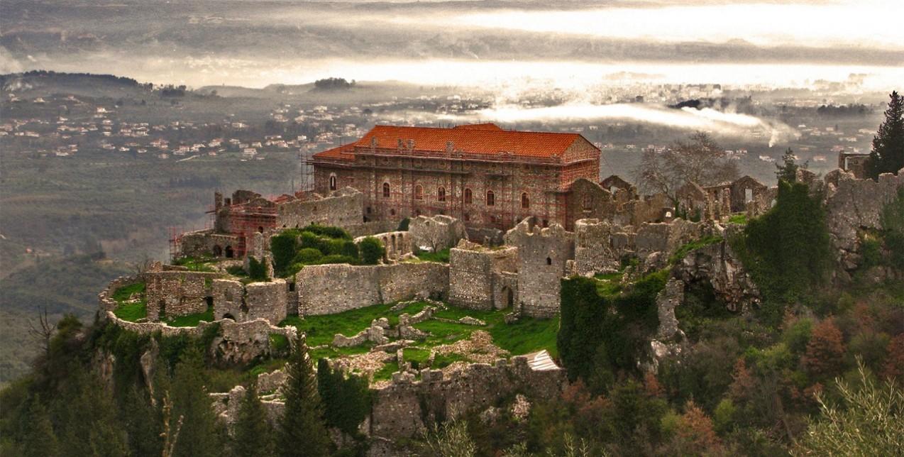 Oraşe fantomă, Mystras, Grecia