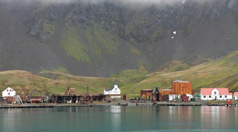 Oraşe fantomă, Grytviken, în Arhipelagul Georgia de Sud