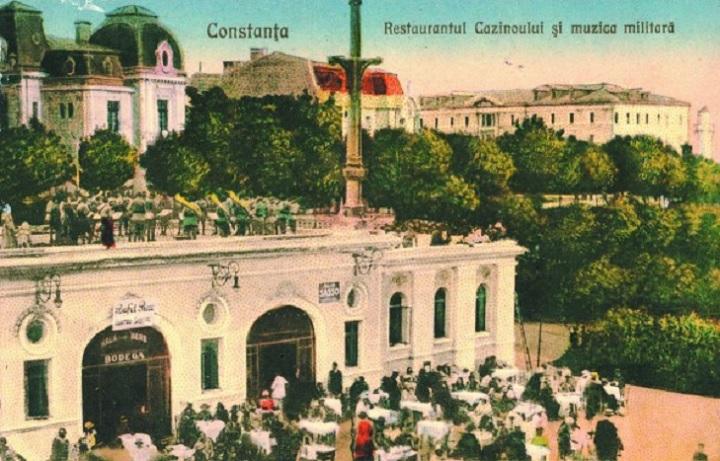 Fostul Restaurant al Cazinoului, devenit Acvariul Constanța