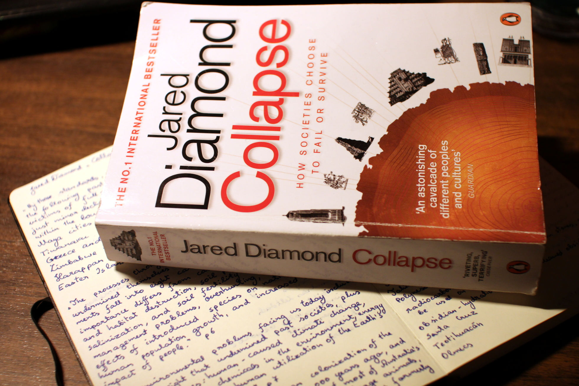 Jared Diamond, Civilizaţia aztecă, Sindromul Insula Pastelui, Sursa Books Come First
