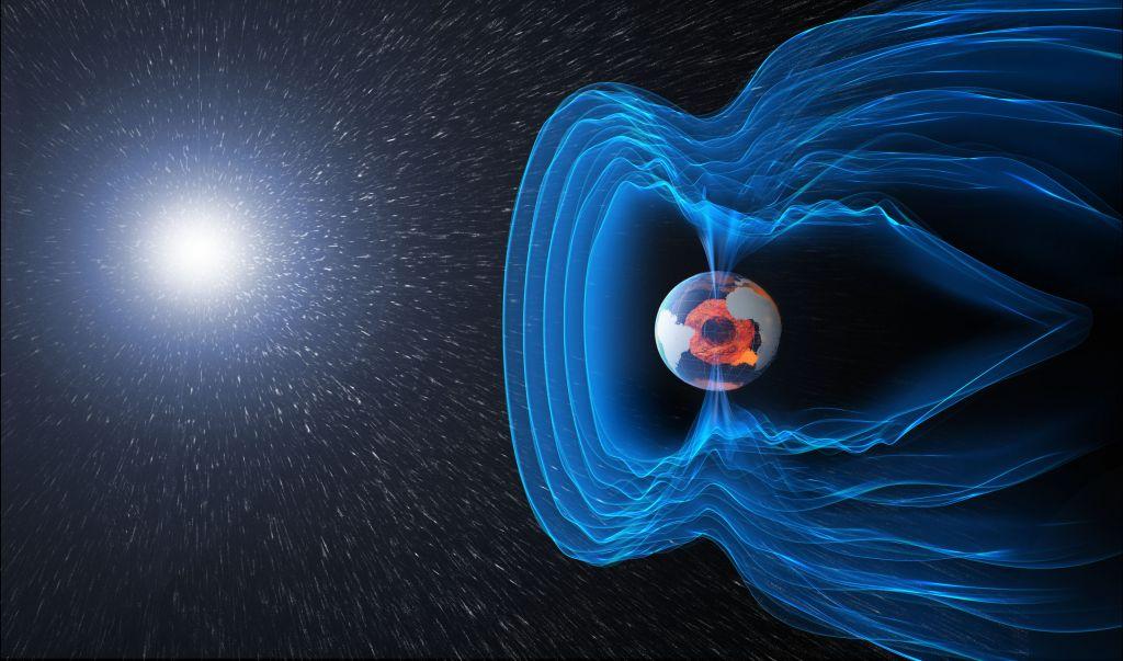 Magnetosfera, Sursa: Notre planete. info