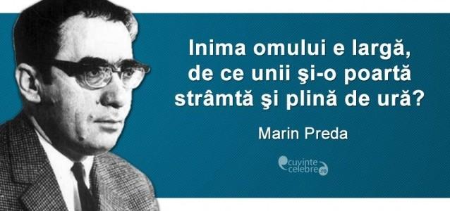 Marin Preda, citat