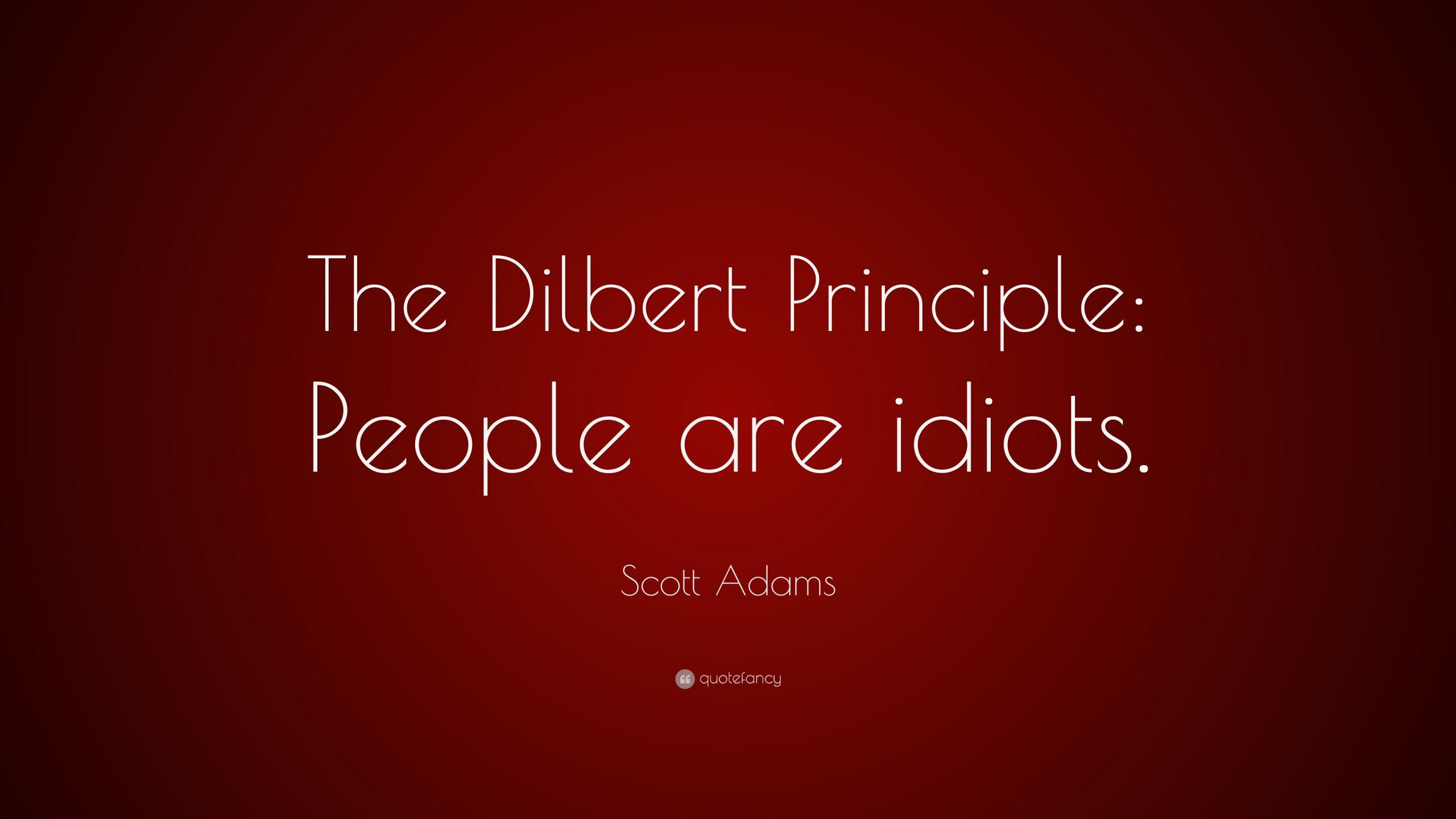Principiul lui Dilbert